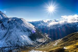 Along the Furka Pass
