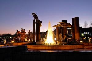 Brugge Fountain