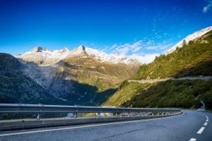 View from the Grimsel Pass