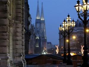 Rathaus - Votivkirche